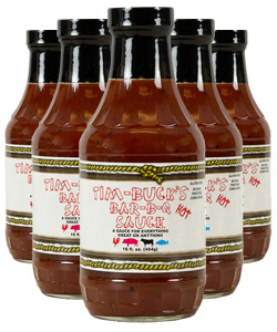 Tim-Buck's HOT Barbecue Sauce (12 Pack)